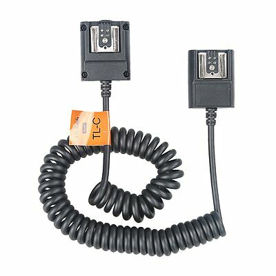 Godox TTL Off Camera Hot Shoe Flash Sync Cable Cord For Canon Speedlite As OC-E3
