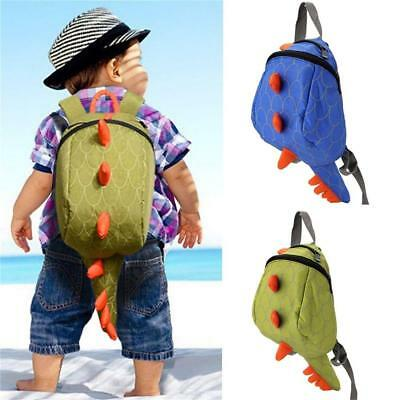 Baby Toddler Kids Dinosaur Safety Harness Strap Bag Backpack with Buddy Reins CB