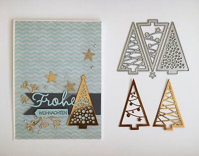 Framelit Stanzform Christbaumfestival Big Shot passt zu Stampin Up Sizzix