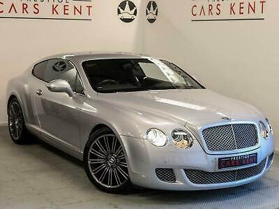 2010 Bentley Continental GT 6.0 W12 Speed 2dr Auto Petrol silver Automatic