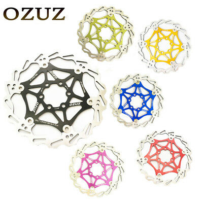 OZUZ 160/180mm Cycling Bicycle MTB Road Stainless Steel Brake Disc Rotor 6 Bolts