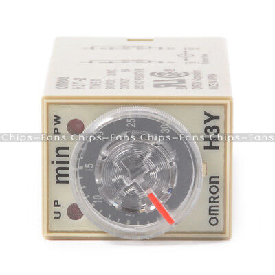 H3Y-2 Solder 110VAC DPDT 8 Pin 0 -30 Seconds Timing Time Delay Relay