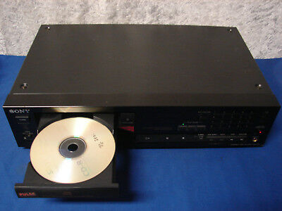 Sony CDP-791 High End CD-Player mit Digitalausgang und variable