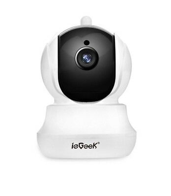ieGeek Wi-Fi Wireless IP Camera CCTV Home Security with Pan/Tilt/Zoom