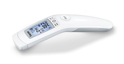 Beurer Forehead and Object Thermometer, No Contact, High Accuracy, and Large Blu