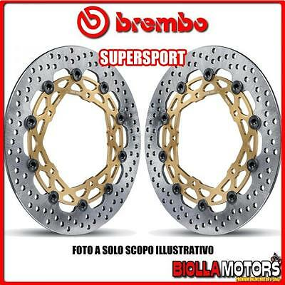 208973714 KIT DISCOS DE FRENO BREMBO SUPERSPORT KAWASAKI ZX-6R, ZX-6RR 600cc 200