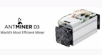 Antminer D3 with PSU November batch