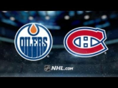 2 tickets Montreal Canadiens vs Edmonton Oilers - Saturday December 9th at the B