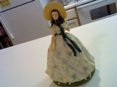 Gone With The Wind San Francisco Music Box:  Scarlett O'hara In Picnic Dress