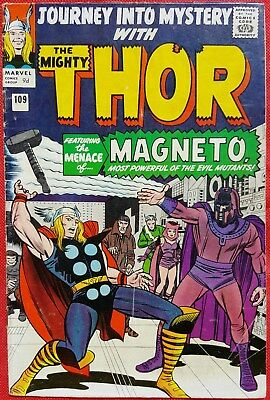 Journey Into Mystery 109 Thor Marvel Silver Age 1964 MAGNETO