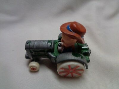 Vintage Toy Porky The Pig Looney Tunes Metal/plastic Tractor