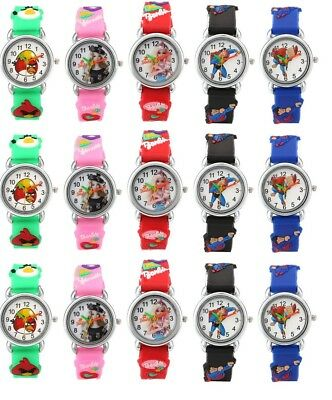 2016 New Kids Children Fashion Cartoon Bracelet Analog Quartz Wrist Watch