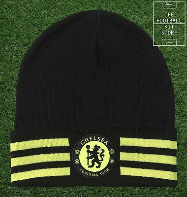Chelsea Hat - adidas Woolie / Beanie Hat - CFC Football Hat - Mens & Boys Sizes