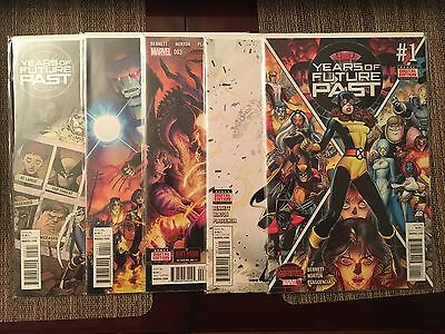 Marvel Years of Future Past #1-5 Complete Run - Near Mint Condition