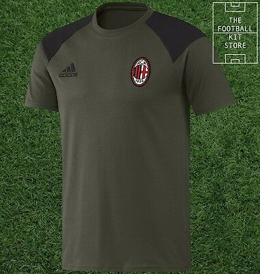 AC Milan Training Tee - Official adidas Football T-Shirt - All Sizes