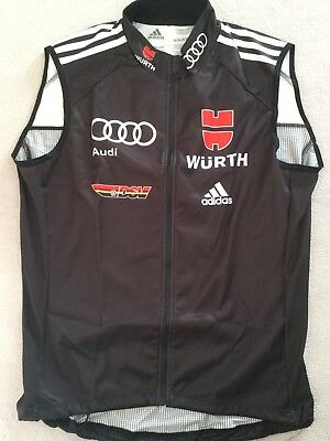 Adidas Weste Langlauf Lightvest Men Gr 48 DSV Athleten