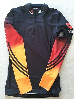 "Adidas Langlauf Shirt ""XC Race Top Men"" Gr. 5 DSV Athleten"