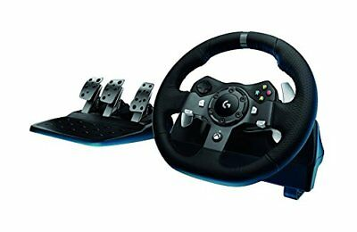 Logitech G920 Dual-motor Feedback Driving Force Racing Wheel with Responsive Ped