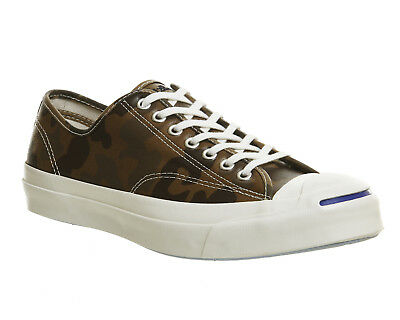Mens Converse Brown Synthetic Lace Up Trainers UK Size 9 *Ex Display