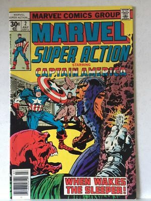 Marvel Super Action # 2 VF/NM Captain America High Grade Free Postage