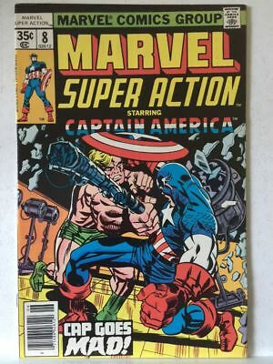Marvel Super Action # 8 VF Captain America High Grade Free Postage