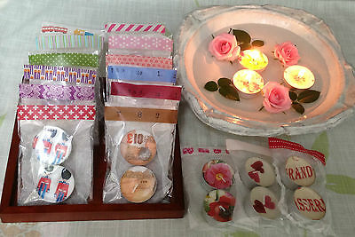 Handmade Tea Candles - 10p extra postage for each additional. (UK)