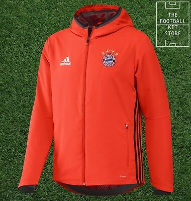 Bayern Munich Presentation Jacket - Official adidas Football Wear - Boys Sizes