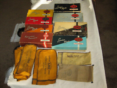 Vtg Smoking Pipe Accessories Empty Boxes, Empty Socks Advertising