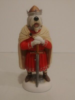 Robert Harrop DP268S Old English Sheepdog King of the Anglo-Saxons 2012