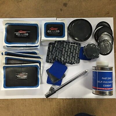 Comprehensive Patch & Repair Kit for Tubeless and Tube Tyres