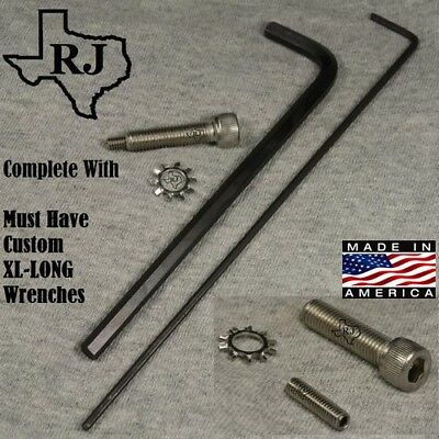 Grip Screw Trigger Adjuster KIT Complete w/ Needed 2 CUSTOM EXTRA LONG Wrenches