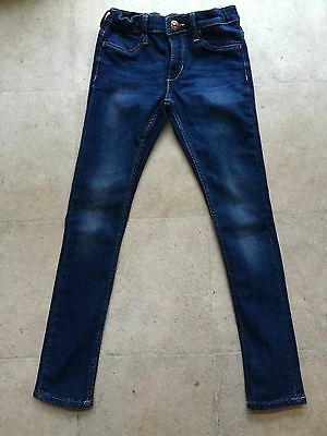 H&M   &Denim Childs 5 Pkt Style Skinny Jean /Jegging Indigo 7