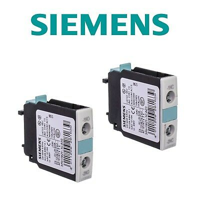 SIEMENS 3RH1921-1CA01 1NC, 3RH1921-1CA10 1NO AUXILIARY SWITCH BLOCK Contact NEW