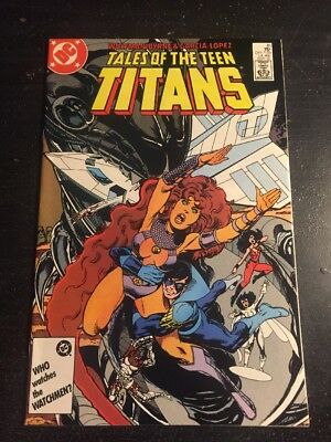 Tales Of Teen Titans#81 Incredible Condition 9.4(1987) Byrne Art!!
