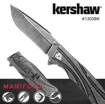 "KERSHAW FREEFALL 3840 SPRING ASSIST OPENING/3"" TANTO BLADE/8Cr13MoV/NEW IN BOX"