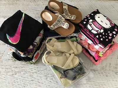Girls sz 8 bulk clothing and shoes NIKE BARDOT BETTS HELLO KITTY