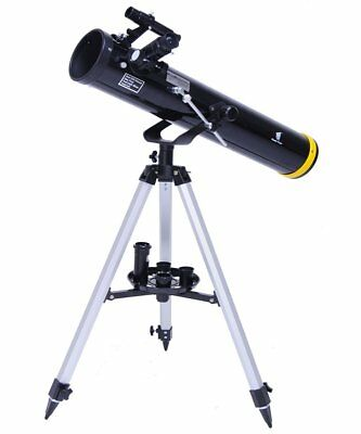 Geertop 70076 EQ Astronomy Portable Reflector Telescope For Beginners - Camera