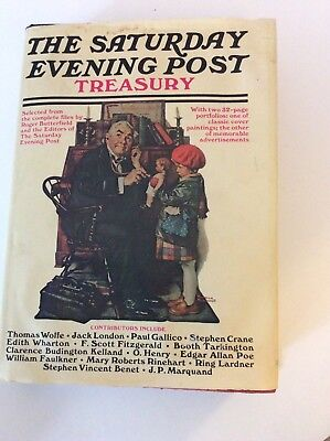 Norman Rockwell The Saturday Evening Post Treasury Book 1954 By Simon & Schuster