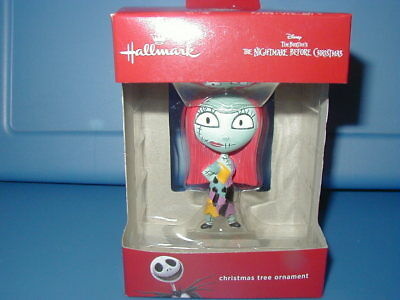 Hallmark Redbox Ornament 2017 NIB Disney Nightmare Before Christmas Sally