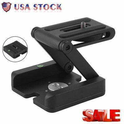 US STOCK Z-Type Stand Holder Camera Flexible Tilt Tripod Kit Pan Head HM
