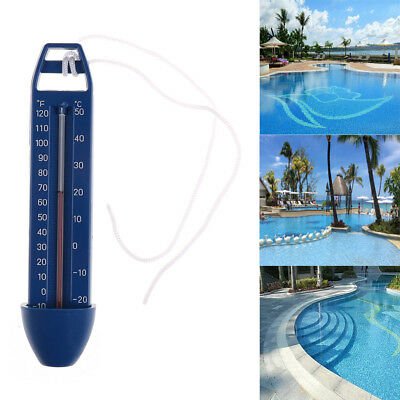 Blue Floating Swimming Pool Spa Hot Tub Bath Temperature Thermometer EV