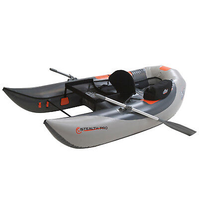 OSG Stealth Pro - Grey Inflatable Fly Fishing Float Tube U-boat