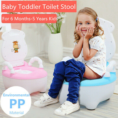 Kids Children Baby Toddler Toilet Training Potty Pee Trainer Safety Seat Chair