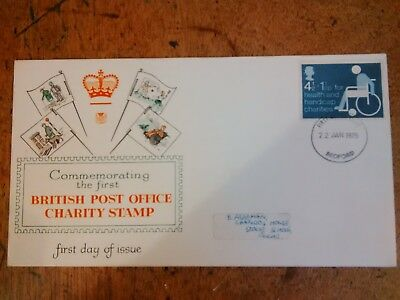 GB First Day Cover - 22 Jan 1975 - Post Office Charity Stamp