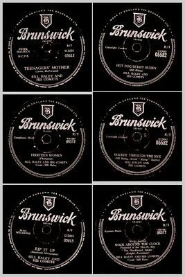 "3x BILL HALEY  ""JUKEBOX-HITS"" -SONDERPREIS- ""Rock Around the Clock""  u.a. Set717"