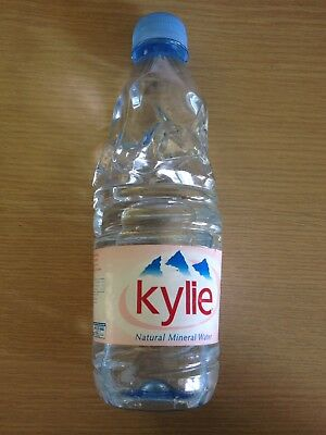 2002 Fever Tour Limited Edition Kylie Minogue Evian Water New Unopened RARE