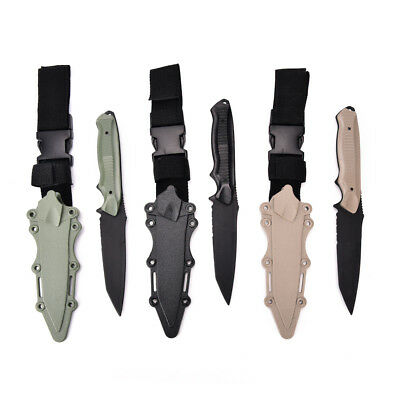 Tactical Knife Model Rubber Dagger Military Cosplay Toy Sword Training Props ;'