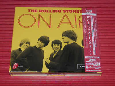 2017 Japan Deluxe Edition 2 Shm Cd The Rolling Stones On Air Bbc Digipak
