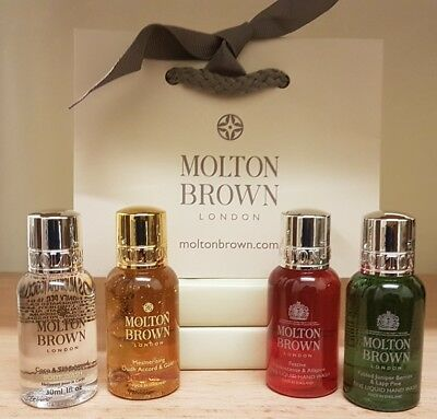 Molton Brown 🎁 gift set of 4 *birthday*Stocking 🎄*RRP:£22*Limited Stock*