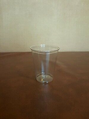 100 x 7oz Clear Plastic Smoothie Cups High Quality Strong Sturdy DART/SOLO TP7